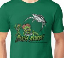 Earth Attacks! Unisex T-Shirt