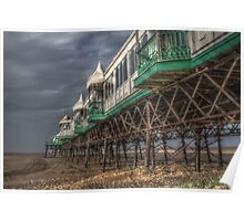 HDR at St annes Pier Lancs Poster