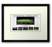Sale Football Netball Club Framed Print
