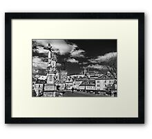 Historical Charles Bridge Framed Print