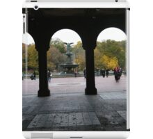 Central Park, Bethesda Fountain, Fall Colors iPad Case/Skin