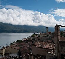 Limone sul Garda - view from Lemon Nursery by Rob Schoon