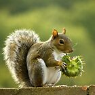 Whose been eating my sunflower seeds? by mikebov