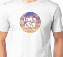 Carpe Diem Clouds Unisex T-Shirt