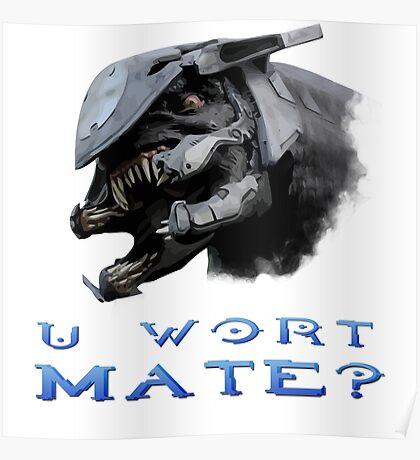U Wort Mate? Poster