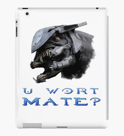 U Wort Mate? iPad Case/Skin