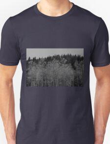 Black and White Quakes Unisex T-Shirt