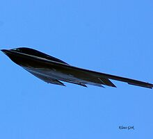 B2 Fly By at Rocky Mountain Regional Airport by Klaus Girk