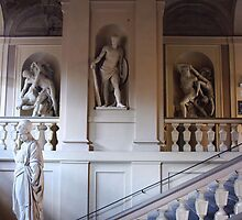 Bologna University Statues VI. Italy  2011 by Igor Pozdnyakov