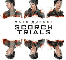 The Maze Runner - The Scorch Trials by Kyrsten Lester