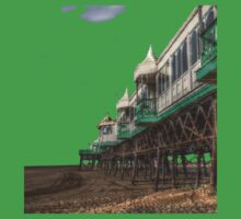 St annes pier HDR tshirt One Piece - Short Sleeve