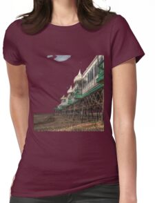 St annes pier HDR tshirt Womens Fitted T-Shirt
