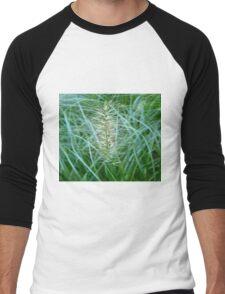 Flowering Grass Spike Men's Baseball ¾ T-Shirt