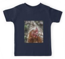 Chicken HDR style Kids Tee