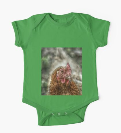 Chicken HDR style One Piece - Short Sleeve