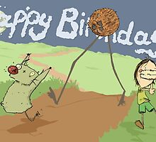Moia and Faduntch Birthday Card 2 by TravelSickMeds