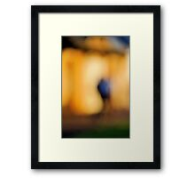 Figure abstract Framed Print