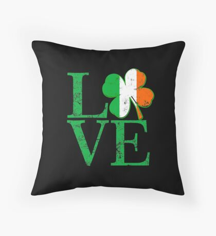 Irish Love Throw Pillow