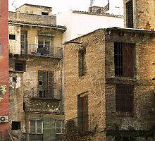 Monotone Backstreet scene in Spain by anjafreak