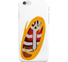 Portal to Your Insides [Orange] iPhone Case/Skin