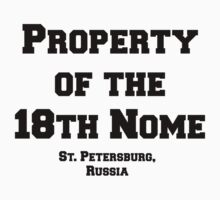 18th Nome Kids Tee