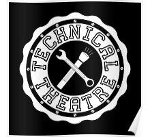 Technical Theatre Logo Poster