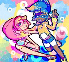 Squid Girls! by Shippery