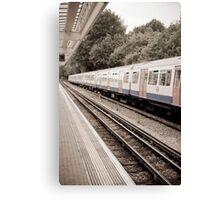 Metro Line Canvas Print