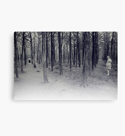 parallel forest 1 Canvas Print