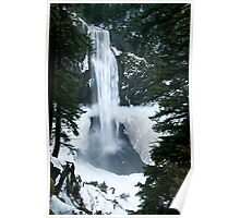 Winter Salt Creek Falls # 1 Poster