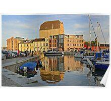 MVP97 Stralsund Harbour, Germany. Poster