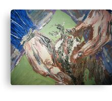 The Potota Picker Canvas Print
