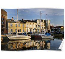 MVP100 Stralsund Harbour, Germany. Poster