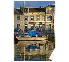 MVP101 Stralsund Harbour, Germany. Poster
