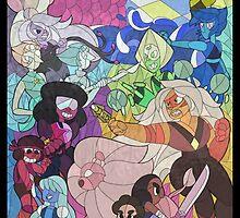 Steven Universe Stained Glass by randomartist16