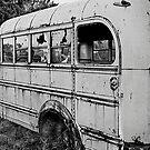 Old School Bus by Timothy L. Gernert