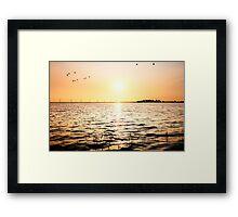 The Eemmeer lake Framed Print