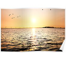 The Eemmeer lake Poster