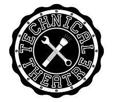Technical Theatre Logo - Black by alexbeppo