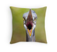 Auditioning Throw Pillow