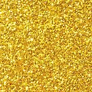 Gold glitter and sparkles by artonwear