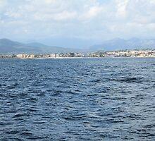 Out at Sea - Javea, Spain by Pamela Jayne Smith