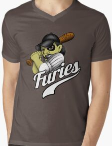 Baseball Furies Mens V-Neck T-Shirt