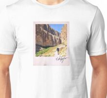 Canyon Hiker Polaroid Unisex T-Shirt
