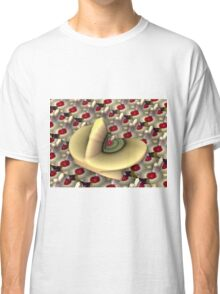 Fractal Food: Key Lime Pie and Cherries Jubilee Classic T-Shirt