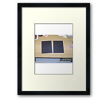 currently unemployed Framed Print