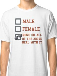 Funny Gender Neutral Classic T-Shirt