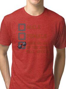Funny Gender Neutral Tri-blend T-Shirt