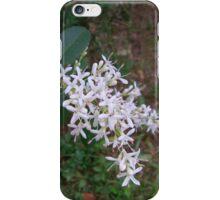 White Flowering Bush iPhone Case/Skin