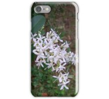 White Flowering Bush iPhone Case/Skin